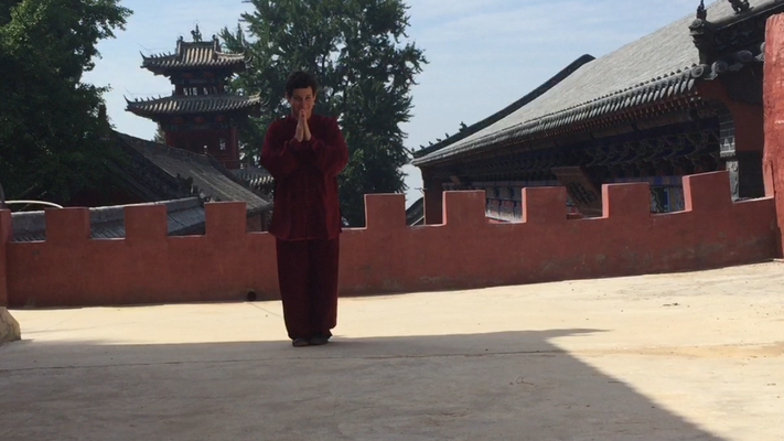 Qigong im Fa Wang Tempel in China 2017