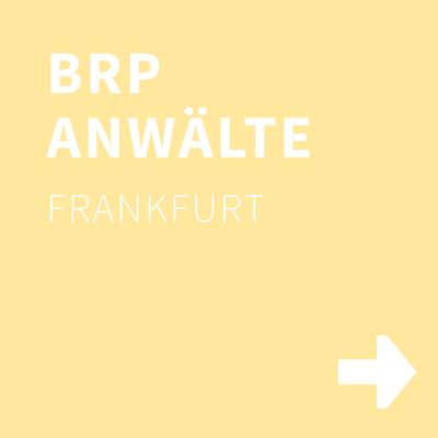 BRP RECHTSANWÄLTE, Frankfurt