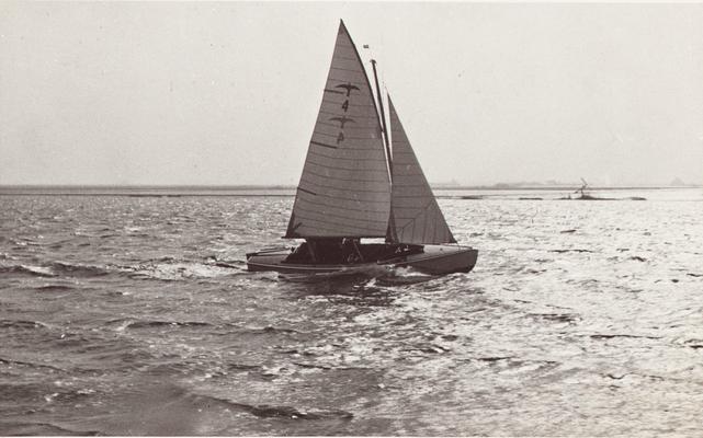 Foto's van de demonstratie wedstrijd op het Pikmeer te Grou (31 maart 1940)