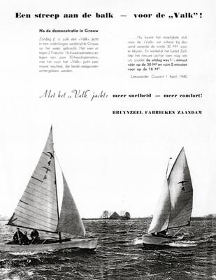 advertentie in de Waterkampioen van 1940