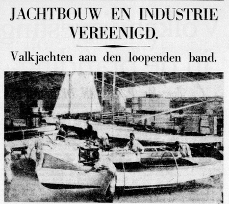 Artikel in de Telegraaf (1940)