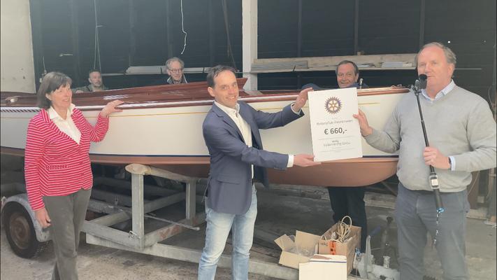 17 april 2021 : onze nieuwe sponsor is Rotary Heerenveen