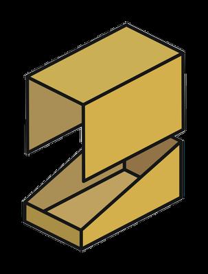 Bild 2 von 5: Display-Tray mit Steck- oder Stülpdeckel