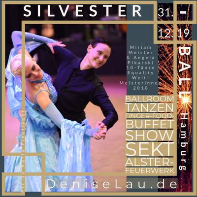 Silvester Ball Flyer (Foto by Karla Pixeljäger)