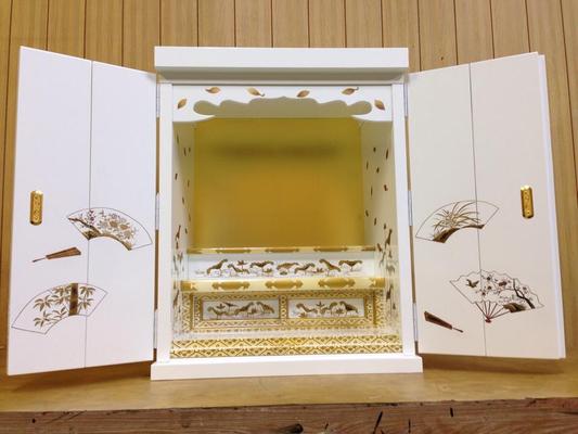 自社製 白い仏壇