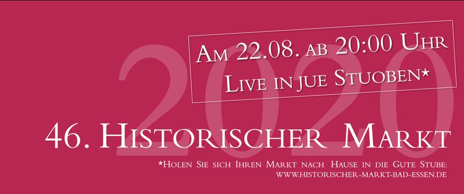 Historischer Markt Bad Essen - Live in jue Stuoben