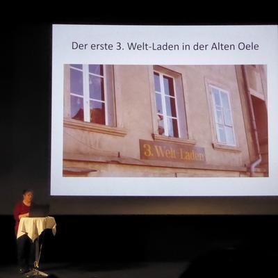 Verena Wanger erzählt über die Vereinsgeschichte