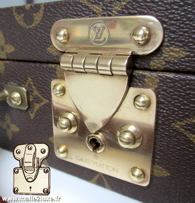 louis vuitton mini suitcase lock trunk