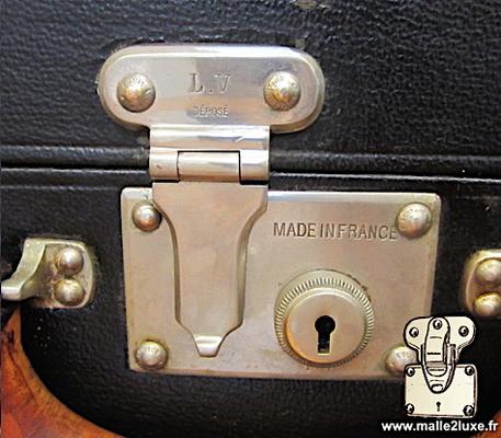 serrure poussoir valise Louis Vuitton nickelé valise noir auto