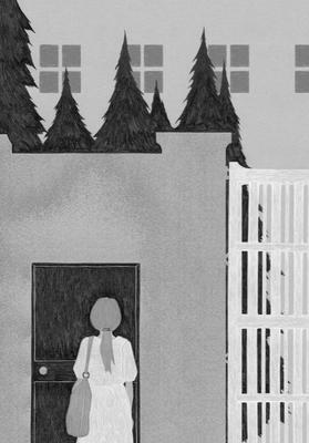 野生時代 09月号(2017)『魔取り』新津きよみ著 扉絵 出版:KADOKAWA