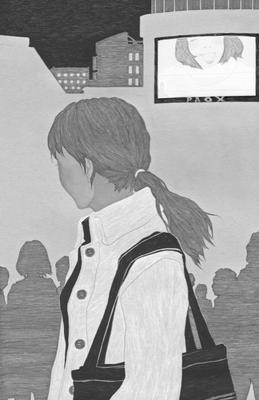 ジャーロ no.62(2017)『ありふれた映像』澤村伊智著 扉絵 出版:光文社