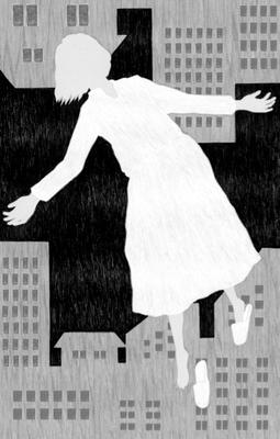 小説現代 12月号(2017)『行旅死亡人』真梨幸子氏著 挿絵 出版:講談社