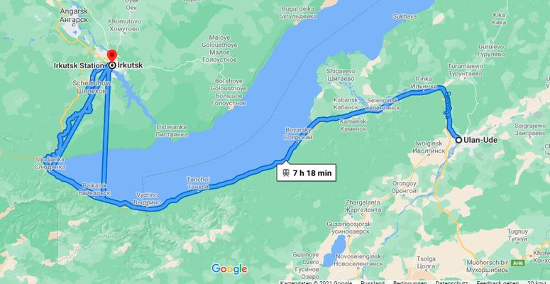 mit der Transib nach Irkutsk
