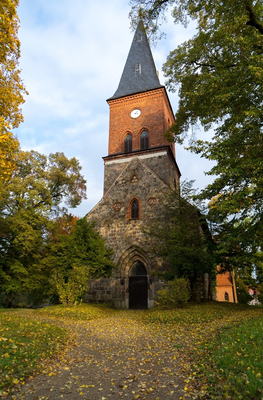 Die alte Ringenwalder Feldsteinkirche