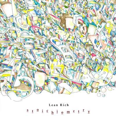 Lean Rich 1st Album「stoichiometry」ジャケットデザイン(300mm×300mm)2021.6