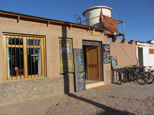 Das Restaurant Katarpe in San Pedro