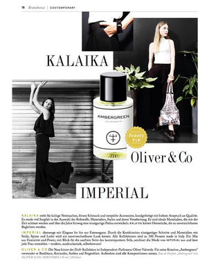 OLIVER & CO in: PANORAMA BERLIN  Ausgabe Sommer 2017, S. 78.