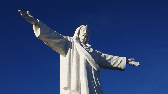 500 Treppen hoch zur Cristo Blanco Statue