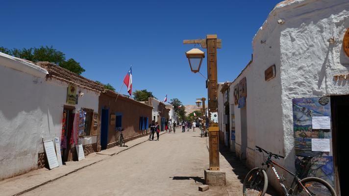 Im kleinen Städtchen San Pedro de Atacama in Nordchile