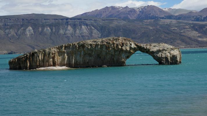 Am Lago Posadas, Argentinien