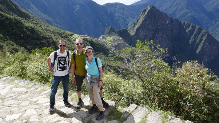 Aussicht von Inka Anlage Winya Wyna
