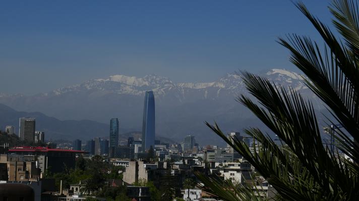 Santiago de Chile, die schöne grosse Hauptstadt