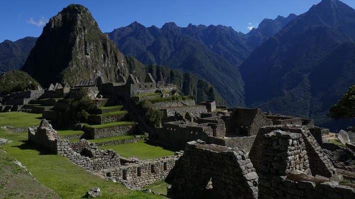 Machu Picchu: einfach eindrücklich