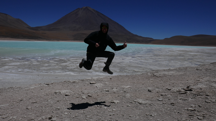 Laguna Verde, Bolivien, 2016