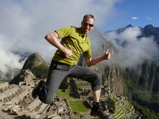 Machu Picchu in Peru, 2016