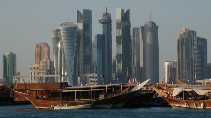 Skyline von Doha