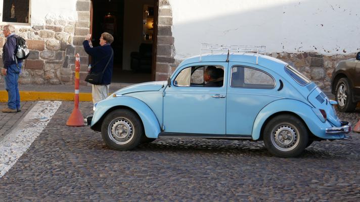 VW-Käfer gibts hier einige
