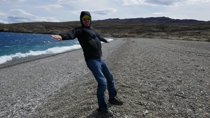 Der patagonische Wind ist sehr berüchtigt