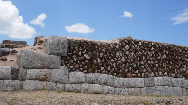 Inka Anlage Saqsaywaman