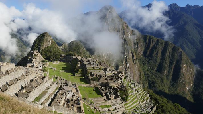 Machu Picchu vom feinsten auch am nächsten Morgen nochmals