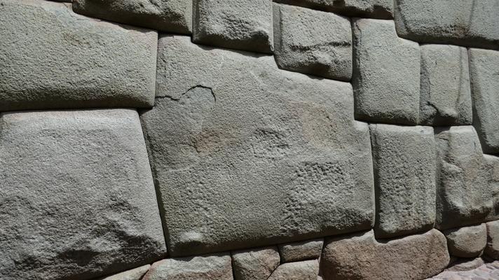Der berühmte 12-eckige Stein in Cusco