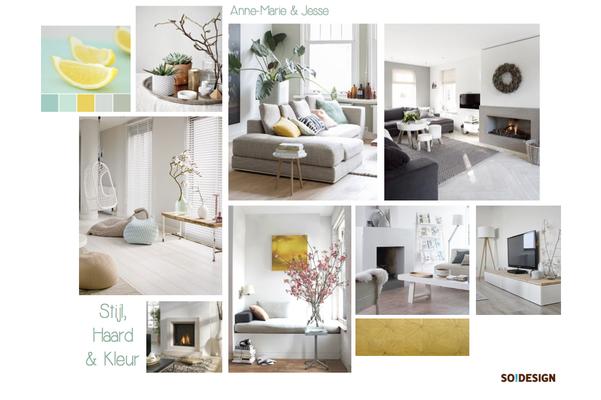 Interieurontwerp & styling: Moodboards/ontwerp voor particuliere klant