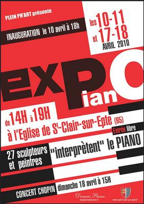 """""""Expo piano"""" Saint-Clair-sur-Epte - Roman Gorski"""