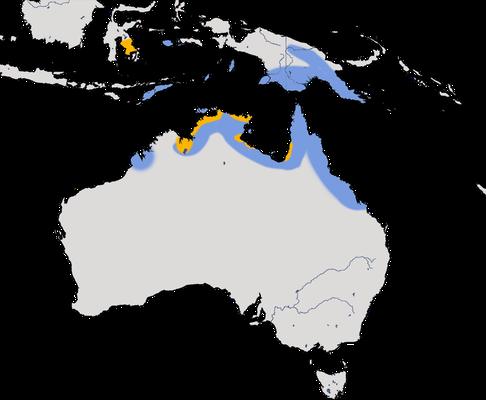 Karte zur Verbreitung des Elsterreihers