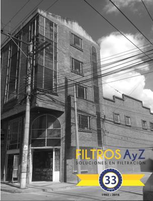 FABRICA FILTROS DE AIRE, FILTROS INDUSTRIALES, FILTROS AYZ