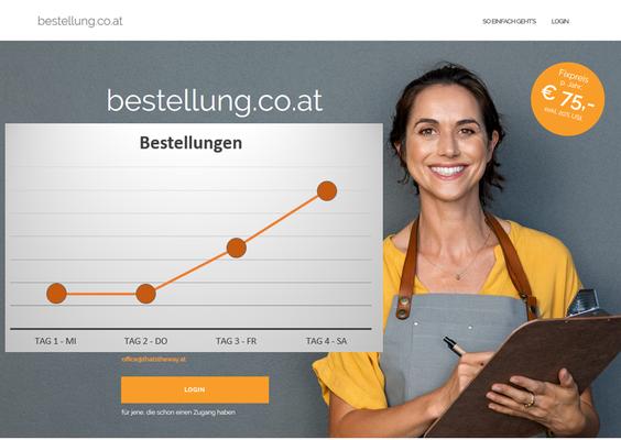 bestellung.co.at - So wird die Speisekarte zum Online-Bestellformular