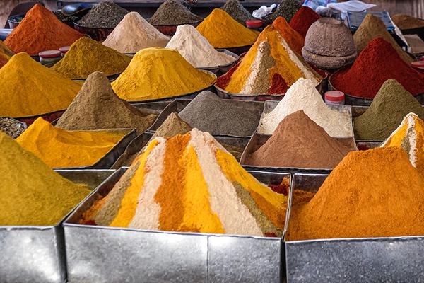 Gewürzvielfalt in Rissani