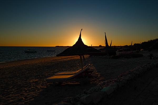 Sonnenuntergang bei Anakao