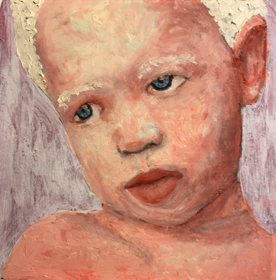 No 27 of 80 small oil paintings (ca. 10 x 10 cm) for a new project