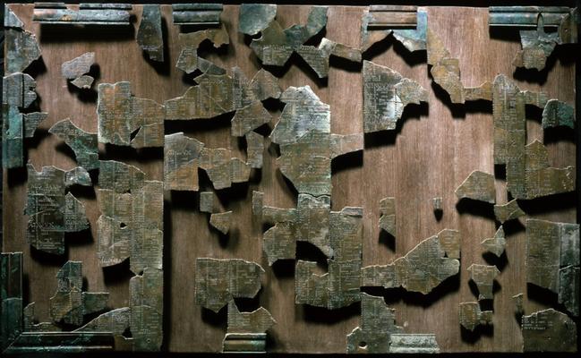 reconstitution du calendrier de Coligny
