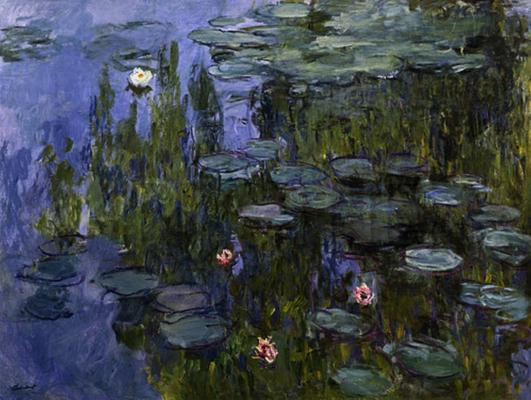 167 - Seerosen - Claude Monet