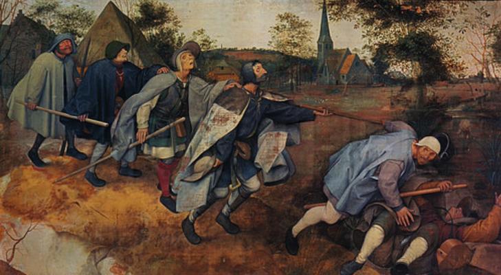 10998 - Das Gleichnis von den Blinden - Pieter Brueghel