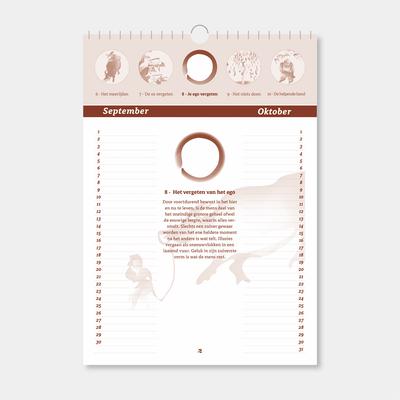 Plaatjes van de Os kalender - blad 5