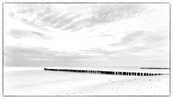 einsamer Strand bei Heiligendamm