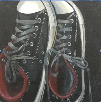 CHUCKS   By Daniela Failla  $600