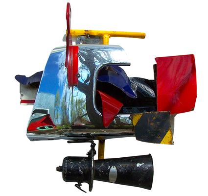 Parade Route, Guinotte Wise (Sculpture) $850
